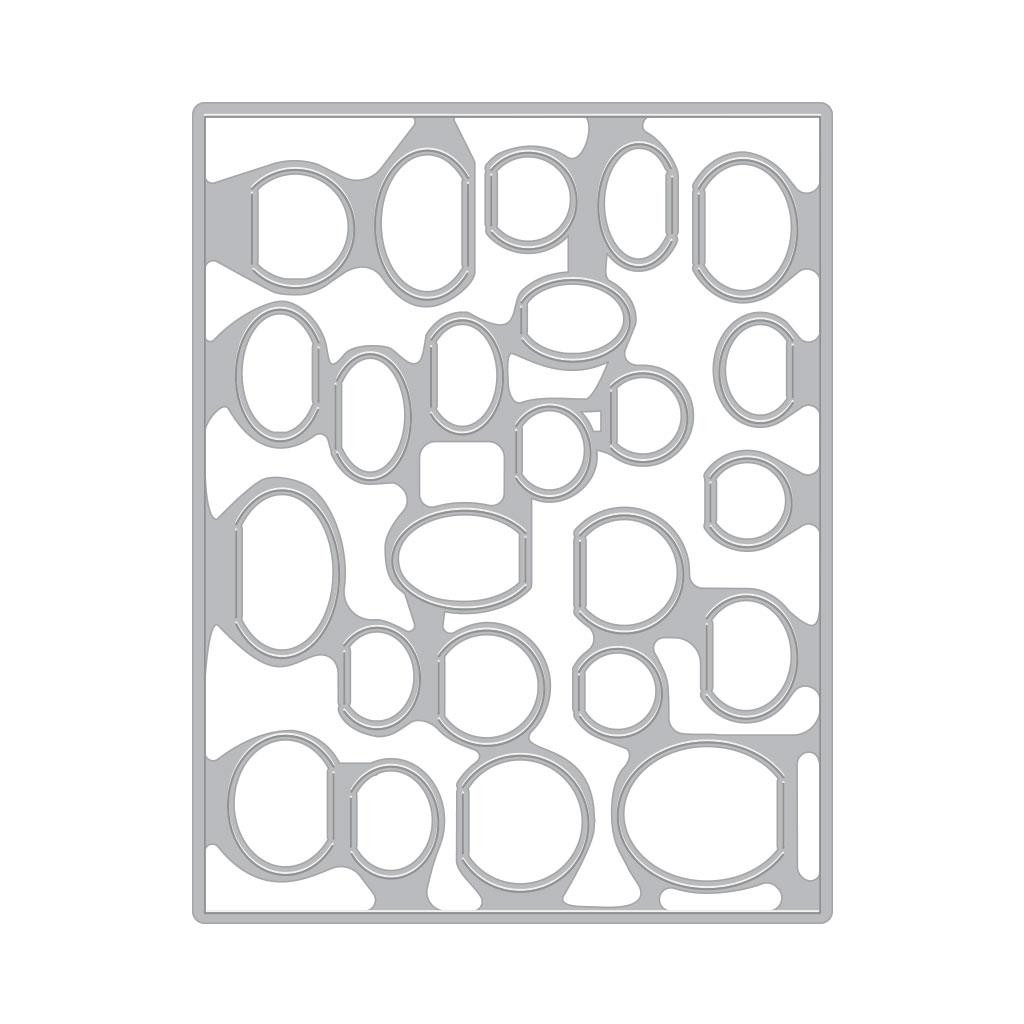 All My Heart Peek-A-Boo Parts, Hero Arts Clear Stamps - 857009249240