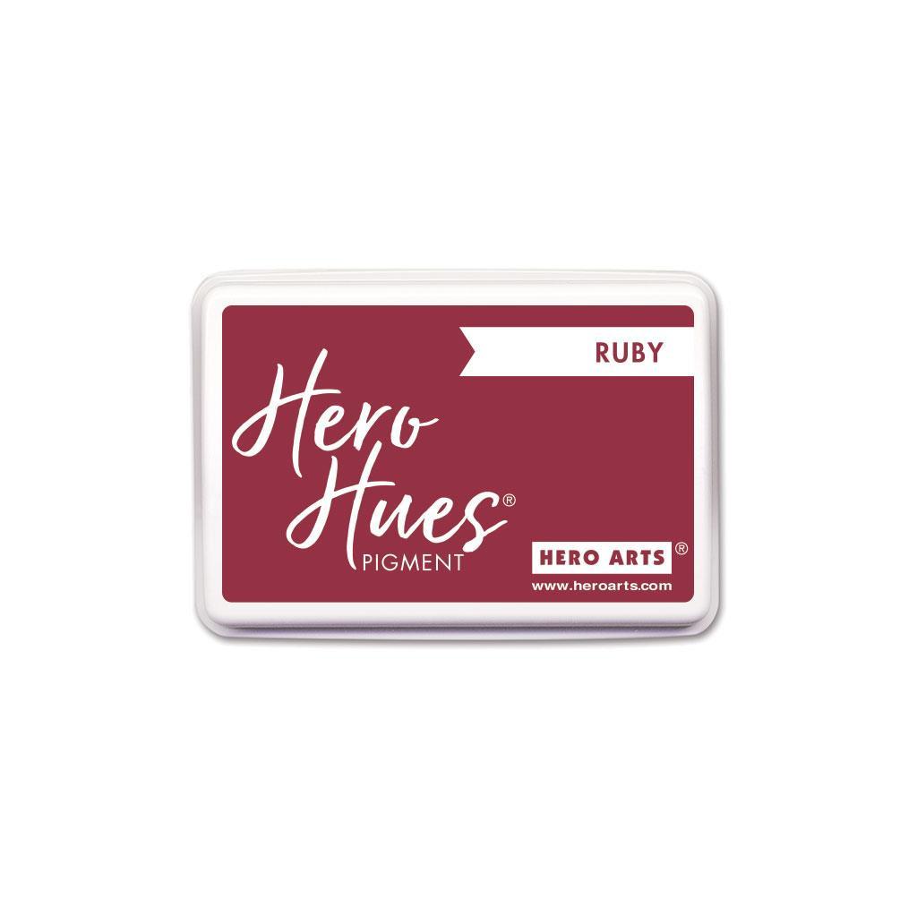 Ruby, Hero Arts Pigment Ink - 857009263796