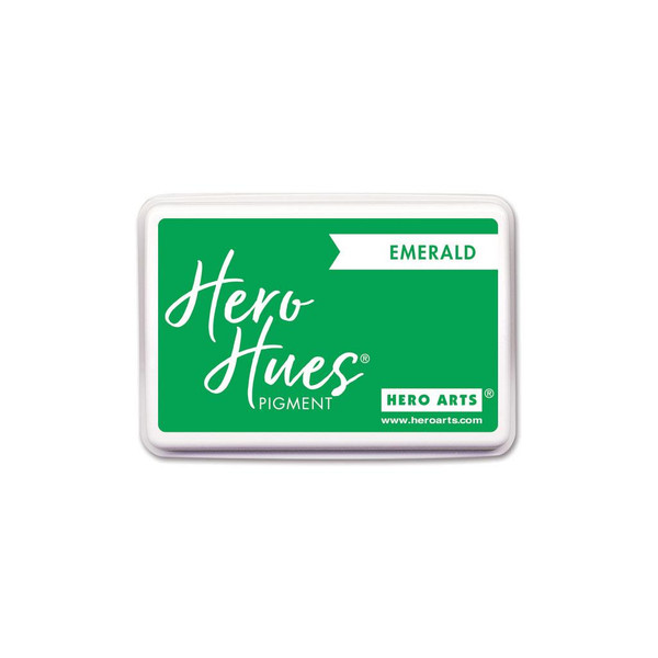 Emerald, Hero Arts Pigment Ink - 857009263482