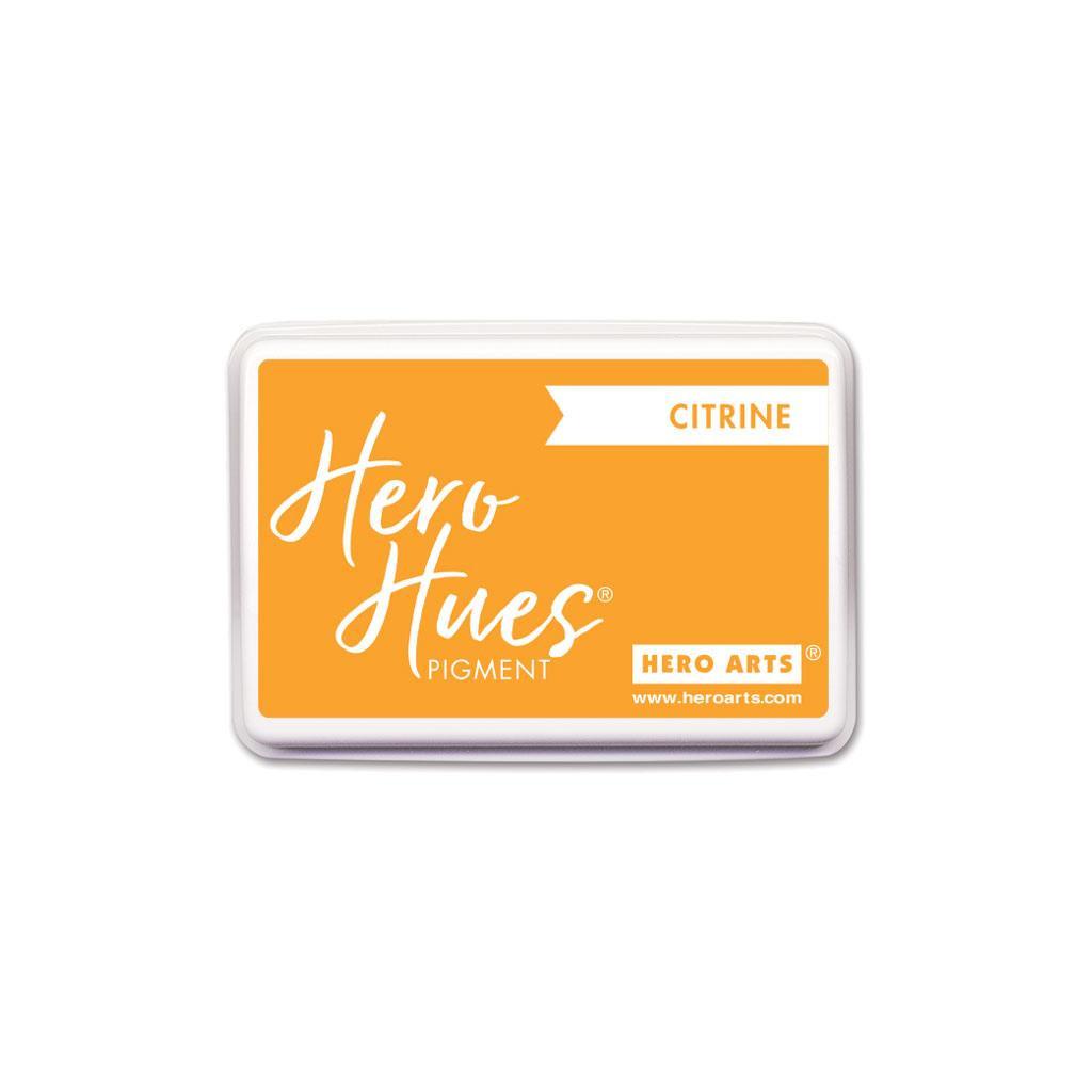 Citrine, Hero Arts Pigment Ink - 085700926317