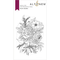 Exotic Garden, Altenew Clear Stamps - 737787257586