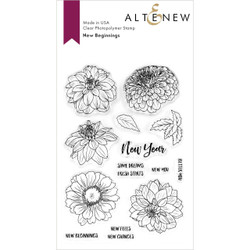 New Beginnings, Altenew Clear Stamps - 737787257623
