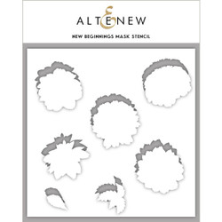 New Beginnings, Altenew Mask Stencil - 737787257647