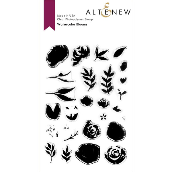 Watercolor Blooms, Altenew Clear Stamps - 737787257715