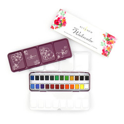 Artists 24 Pan Set, Altenew Watercolor Paint - 704831298499