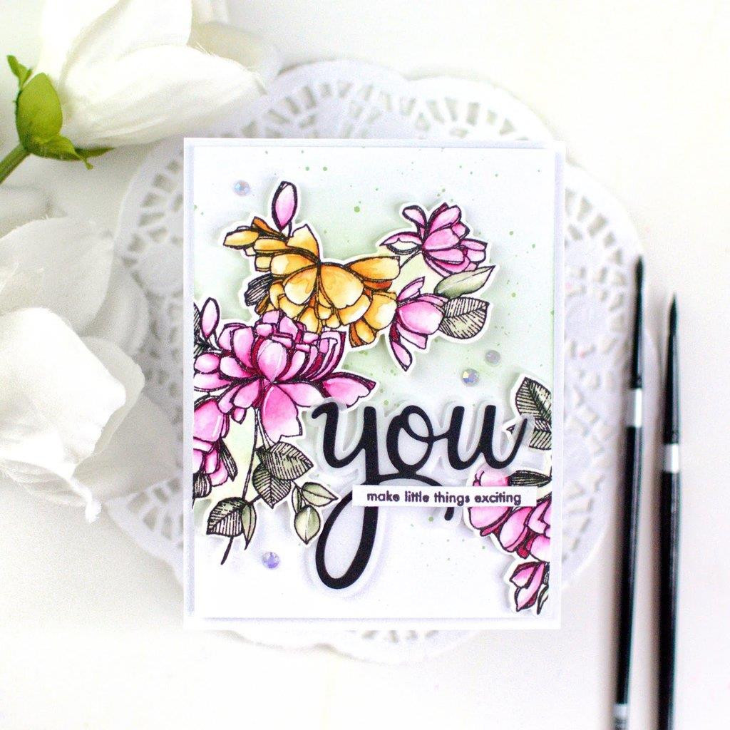 Just Because, Pinkfresh Studio Clear Stamps - 782150204483