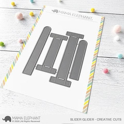 Slider Glider, Mama Elephant Creative Cuts -