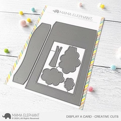 Display a Card, Mama Elephant Creative Cuts -