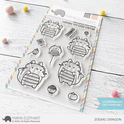 Zodiac Dragon, Mama Elephant Clear Stamps -