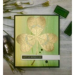 Shamrock Trinity, Colorado Craft Company Clear Stamps - 810043853033