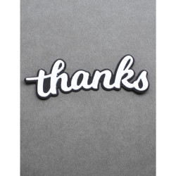 Thanks Honey Script, Birch Press Design Dies - 873980573020