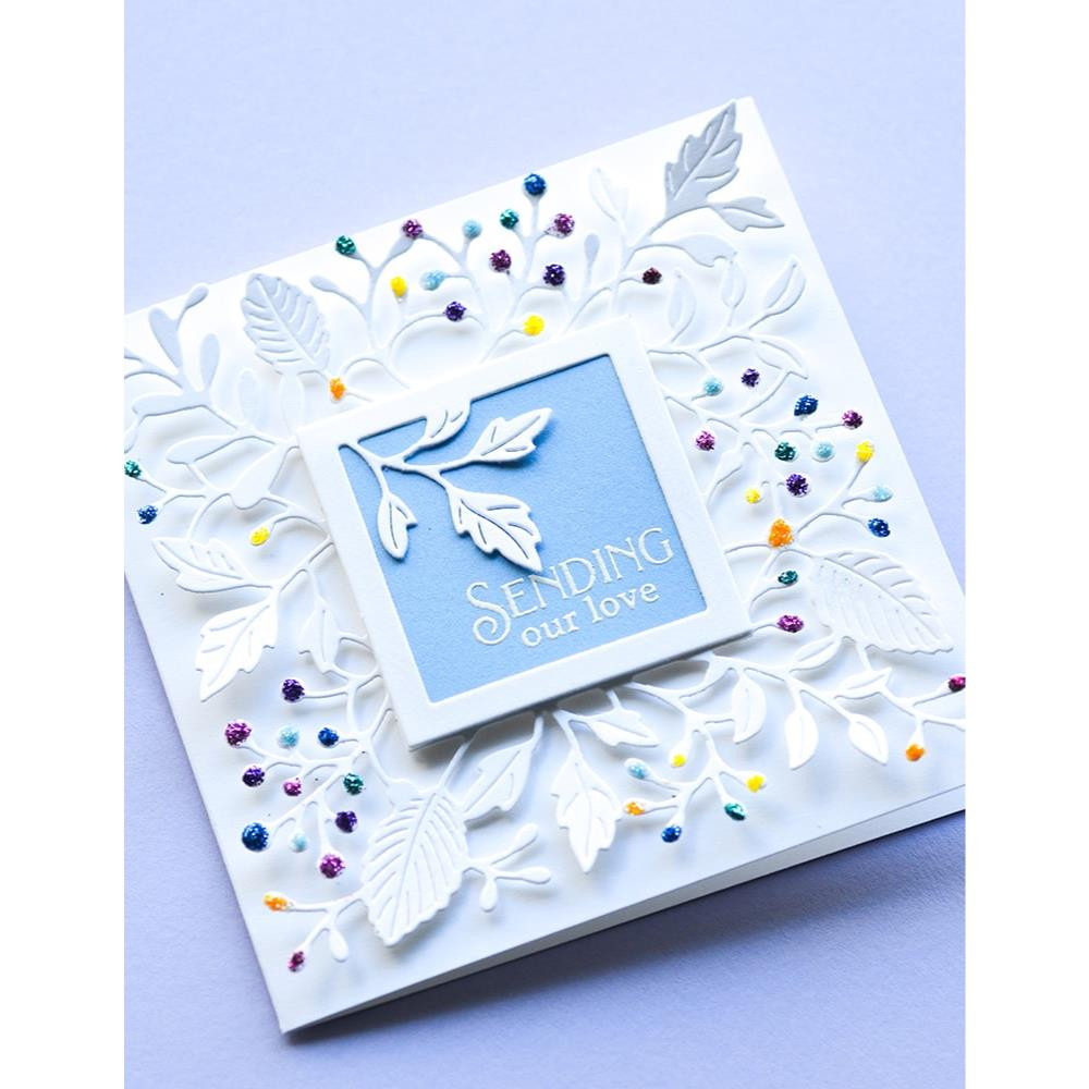 Greetings Basic, Poppystamps Clear Stamps -