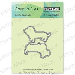 Paw-ty Cut Out, Penny Black Dies - 759668516155