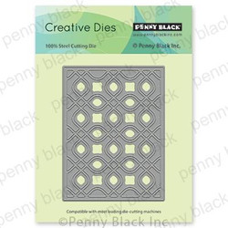 Creative Curves, Penny Black Dies - 759668516117