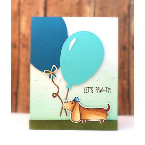 Balloons, Penny Black Dies - 759668516094