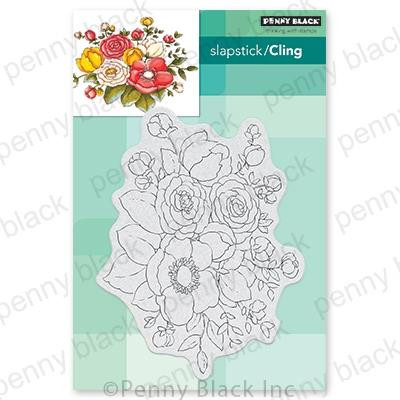 Unforgettable, Penny Black Cling Stamps - 759668407347