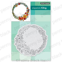 Circular Sunshine, Penny Black Cling Stamps - 759668407330