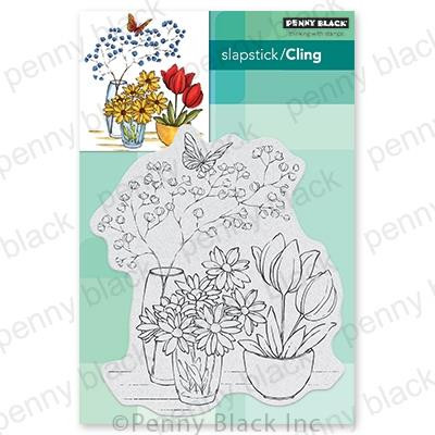 Alluring Arrangement, Penny Black Cling Stamps - 759668407255