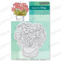 Blooming Bunch, Penny Black Cling Stamps - 759668407231