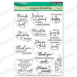 Magical Friendship, Penny Black Clear Stamps - 759668307074