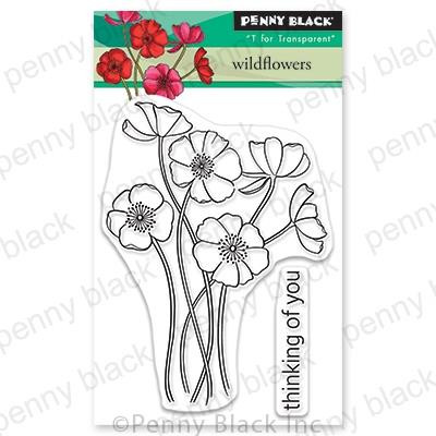 Wildflowers, Penny Black Clear Stamps - 759668306985