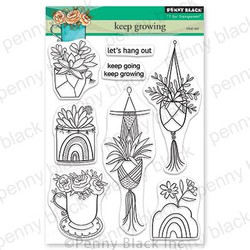 Keep Growing, Penny Black Clear Stamps - 759668306978