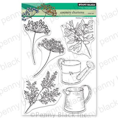 Country Charisma, Penny Black Clear Stamps - 759668306909