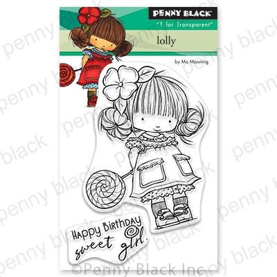 Lolly, Penny Black Clear Stamps - 759668306886