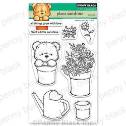 Plant Sunshine, Penny Black Clear Stamps - 759668306879