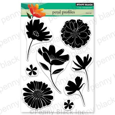 Petal Profiles, Penny Black Clear Stamps - 759668306848