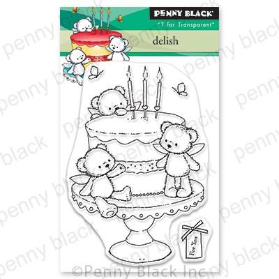 Delish, Penny Black Clear Stamps - 759668306831