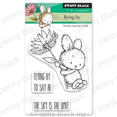 Flying By, Penny Black Clear Stamps - 759668306817