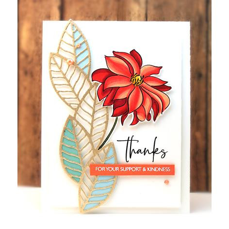 Million Thanks, Penny Black Clear Stamps - 759668306800
