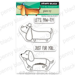 Paw-ty, Penny Black Clear Stamps - 759668306763