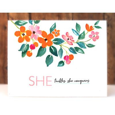 She Builder, Penny Black Clear Stamps - 759668306732