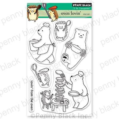 Oven Lovin', Penny Black Clear Stamps - 759668306701