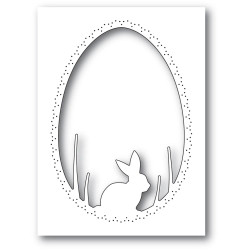 Bunny Egg Collage, Memory Box Dies - 873980944455
