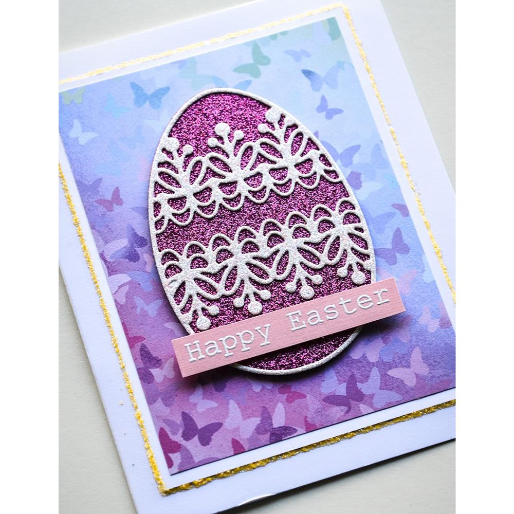 Twinkling Jewel, Memory Box Glitter Pad - 873980201602