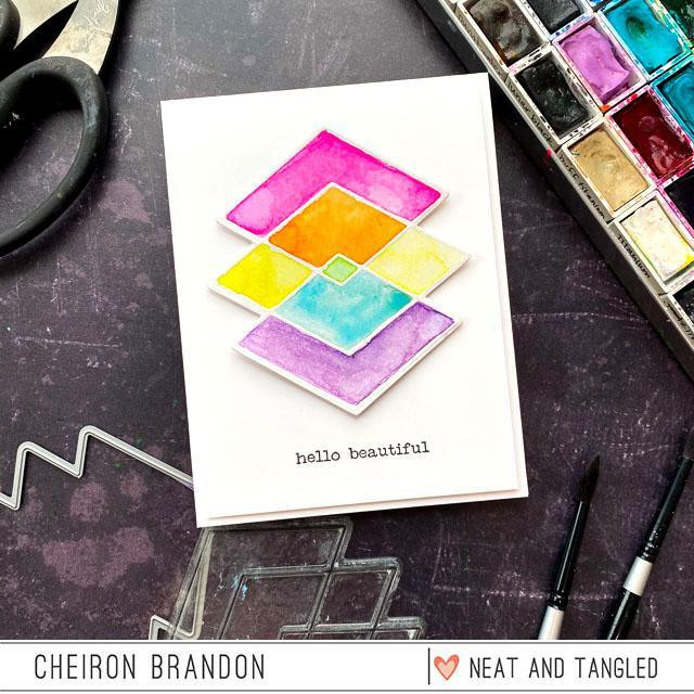 Geometric, Neat & Tangled Clear Stamps - 817360023620