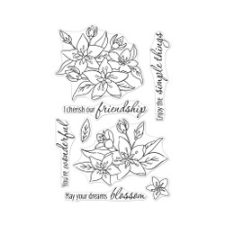Dreams Will Blossom, Hero Arts Clear Stamps - 857009267060