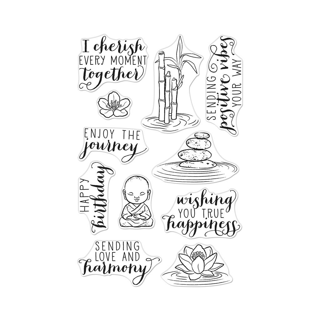 Tranquility, Hero Arts Clear Stamps - 857009267138