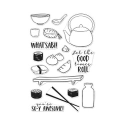 Soy Awesome, Hero Arts Clear Stamps - 857009267992