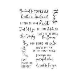 Zen Messages, Hero Arts Clear Stamps - 857009268364