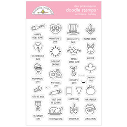 Occasions - Holidays, Doodlebug Clear Stamps - 842715067288