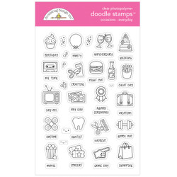 Occasions - Everyday, Doodlebug Clear Stamps - 842715067295