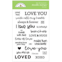 Love You, Doodlebug Clear Stamps - 842715067332