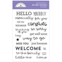 All Occasion, Doodlebug Clear Stamps - 842715067356