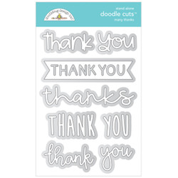 Many Thanks, Doodle Cuts - 842715067431