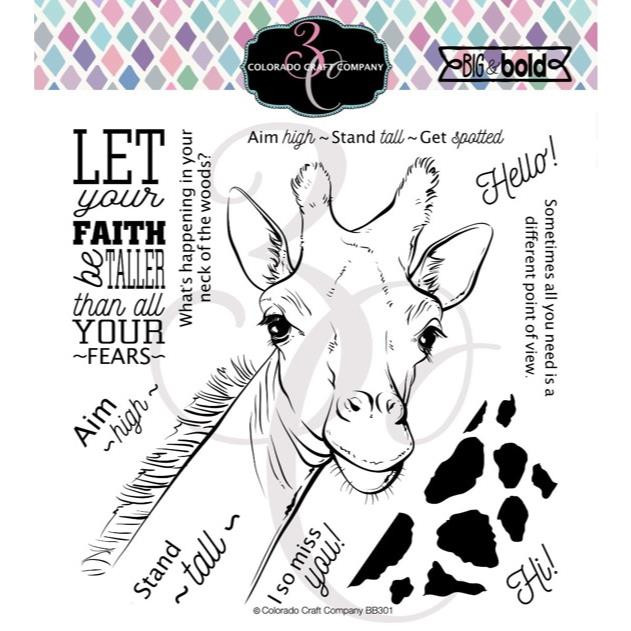 Stand Tall, Colorado Craft Company Clear Stamps - 810043853019
