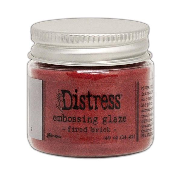 Fired Brick, Ranger Distress Embossing Glaze - 789541070979
